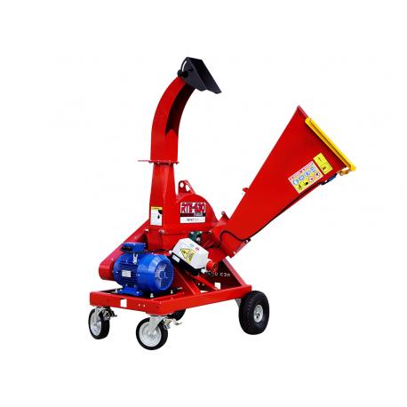 Rębak Tarczowy RTE-630 + Podwozie do transportu ręcznego