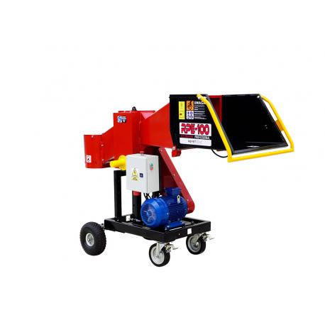Model RPE-100 (7,5 kW) + Podwozie do transportu ręcznego